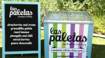 Self Sevice Ice Cream Display Freezer by Las Paletas, Wedding Canape, Corporate Events