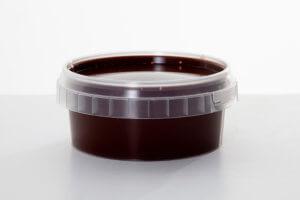 70% Dark couverture chocolate magic shell by Las Paletas Ice Cream