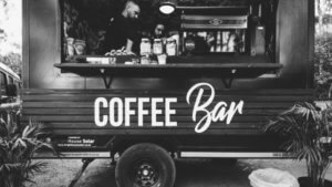Black Box Coffee Food Truck
